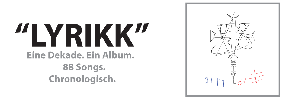 Rikk - Love. LYRIKK. The Swiss language rap finale of a decade of rap in the Swiss language. Now.